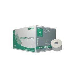 Europroducts Europroducts toiletpapier met dop 2-l, 100m, eco, 36 rollen