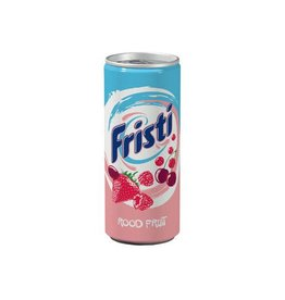 Fristi Fristi yoghurtdrank, blik van 25 cl, pak van 12 stuks