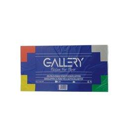 Gallery Gallery enveloppen 114x229mm met venster rechts, 50st