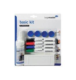 Lega Legamaster basic kit voor whiteboards, op blister