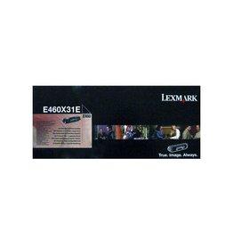 Lexmark Toner Lexmark E460X Black corporate 15K
