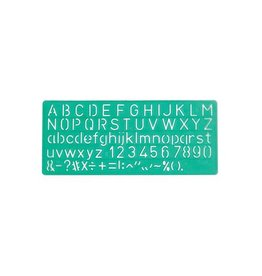 Linex Linex lettersjabloon 10 mm