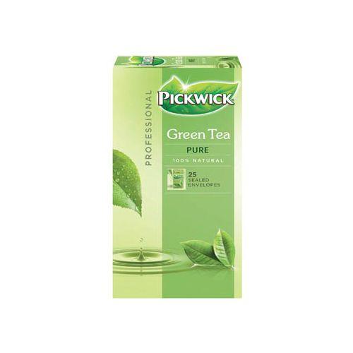 Thee Pickwick groen puur 25 zakjes van 1.5gr