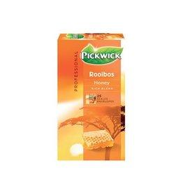 Pickwick Pickwick thee, rooibos en honing, pak van 25 stuks