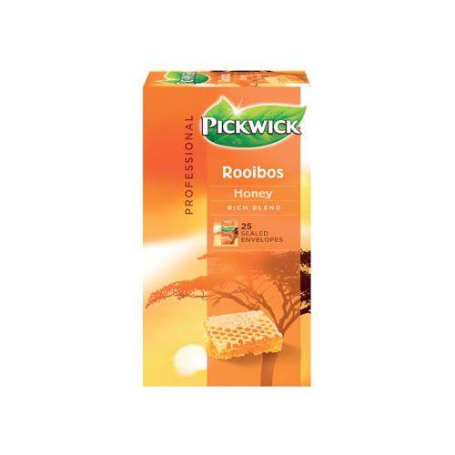 Thee Pickwick rooibos honing 25 zakjes van 1.5gr