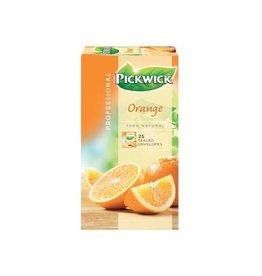 Pickwick Pickwick thee, sinaasappel, pak van 25 stuks
