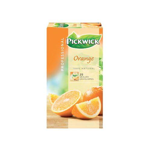 Pickwick thee, sinaasappel, pak van 25 stuks