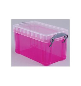 Really Useful Box Really Useful Box 2,1 liter, transparant roze