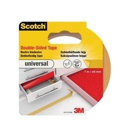 Scotch Scotch dubbelzijdige plakband voor tapijt en vinyl 50mmx7m