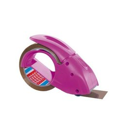 Tesa Tesa afroller voor verpakkingsplakband van maximum 50mm,roze