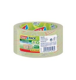 Tesa Tesa verpakkingsplakband Eco,  50mmx66m PP transparant [6st]