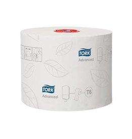 Tork Tork toiletpapier Mid-Size, 2-l, 100m, systeem T6, 27rol.