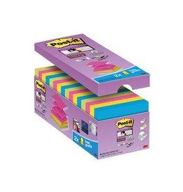 Post-it Post-it Super Sticky Z-Notes, ft 76 x 76 mm 90vel 12+4gratis