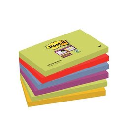 Post-it Post-it Super Sticky notes Marrakesh 76x127mm 90vel 6bl