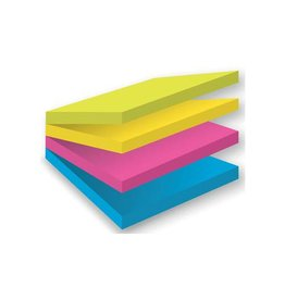 Post-it Post-it Super Sticky Multicolor Notes Rio 76x76mm 75p [4st]