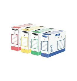 Bankers Box Bankers Box basic archiefdoos heavy duty 9,5x24,5x33 g.k