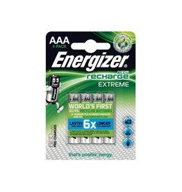Energizer Energizer herlaadbare batterij Extreme AAA, blister van 4st