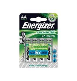 Energizer Energizer herlaadbare batterij Extreme AA, blister van 4st
