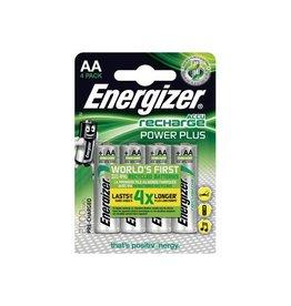 Energizer Energizer herlaadbare batterijen Power Plus AA,blister 4st