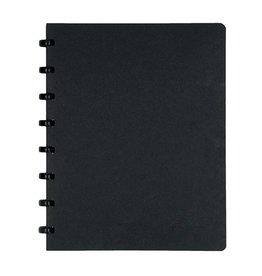Atoma Atoma meetingbook, ft A5, zwart, geruit 5mm