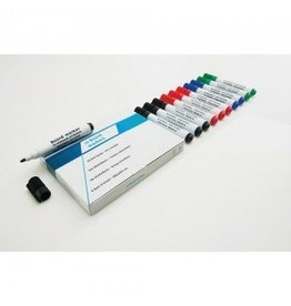 Smit Visual Supplies Whiteboardmarker rood rond 5mm