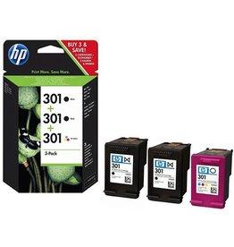HP Ink HP 2xNo.301 Black 190p+165p