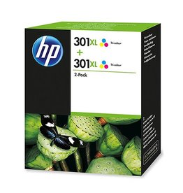 HP Ink HP 2xNo.301XL Color 330p