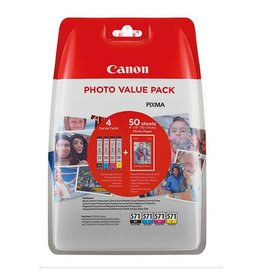 Canon Multipack Canon CLI571 CMYBK 4x7ml