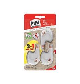 Pritt Pritt correctieroller Eco Flex, blister 2 + 1 gratis