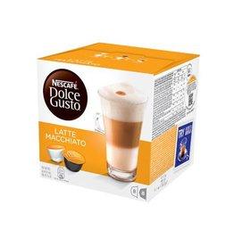Nescafé Dolce Gusto Nescafé Dolce Gusto koffiepads, Latte Macchiato, 16st