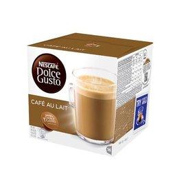 Nescafé Dolce Gusto Nescafé Dolce Gusto koffiepads, Café au lait, pak van 16 st
