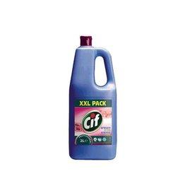 Cif Cif schuurcrème, met bleekwater, flacon van 2 liter