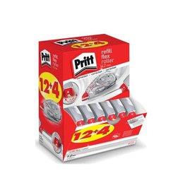 Pritt Pritt correctieroller Refill Flex 4,2 mm x 12 m, doos 12 + 4