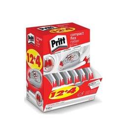 Pritt Pritt correctieroller Compact Flex 4,2mmx10m,doos 12+4gratis