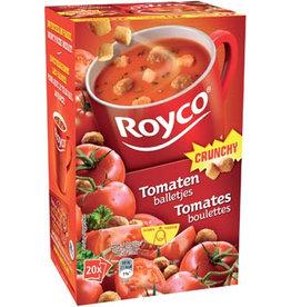 Royco Royco Minute Soup tomaat met balletjes, pak van 20 zakjes
