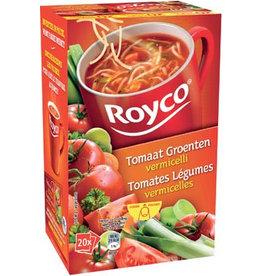 Royco Royco Minute Soup tomaat groenten vermicelli, pak van 20st