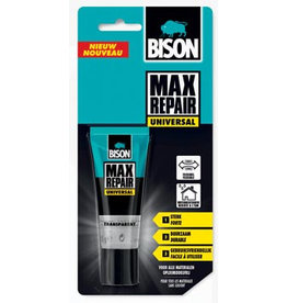 Bison Bison lijm Max Repair Universal, blister met tube van 45 g