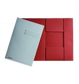 Esselte Dossiermap Esselte folio 3klep grijs (50)