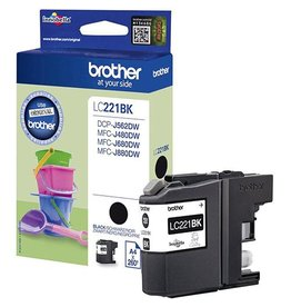 Brother Brother LC-221VALBPDR multipack 4x260 pages (original)
