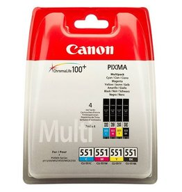 Canon Multipack Canon CLI551Z CMYK 4x7ml