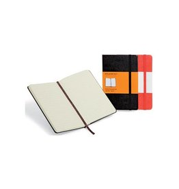 Moleskine Moleskine notitieboek, 13x21cm, harde cover, 192bl, zw