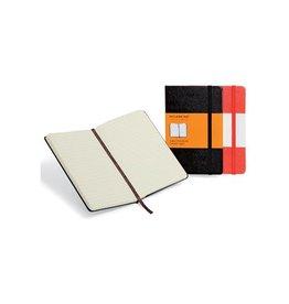 Moleskine Moleskine notitieboek 9x14, gelijnd, harde cover, 192bl, zw