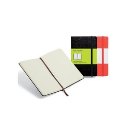 Moleskine Moleskine notitieboek 13x21, effen, harde cover, 192bl, zw