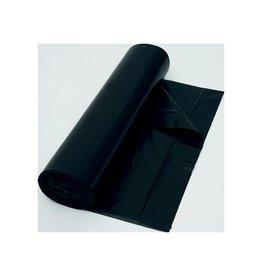 Merkloos Vuilniszak 37 micron, ft 70 x 110 cm, zwart, rol van 25st