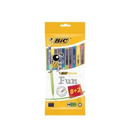 Bic Bic vulpotlood Matic 0,7mm fun kl. ophangzakje met 8+2 grat.