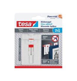 Tesa Tesa klevende spijker voor oneffen en gevoelige onderg. 2 kg