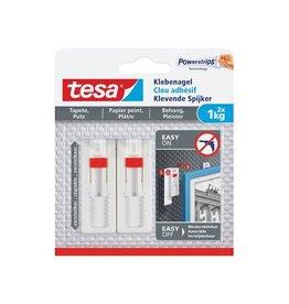 Tesa Tesa Klevende Spijker voor Behang en Pleisterwerk, 1 kg, 2st