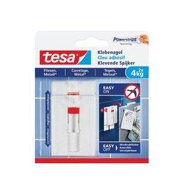 Tesa Tesa klevende spijker voor effen en solide ondergronden 4 kg