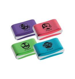 Maped Maped gum Essentials Soft, geassorteerde kleuren [40st]