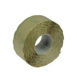 Merkloos Etiketten voor prijstang Samark 26x12mm, permanent, 12 rol.